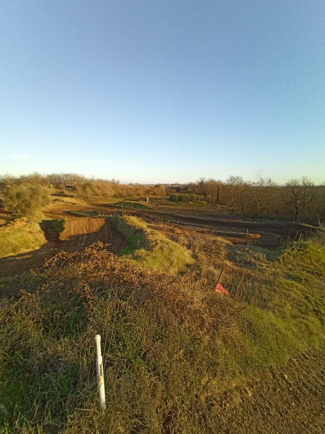 motocross track Vasanello