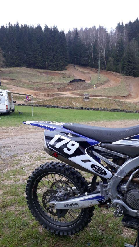 motocross track Kraslice