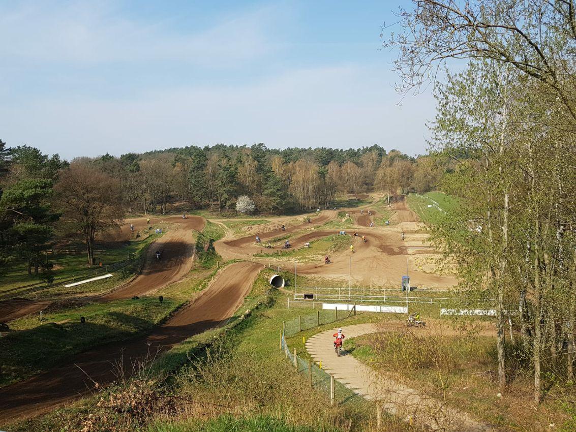 motocross track Plate ENDURO